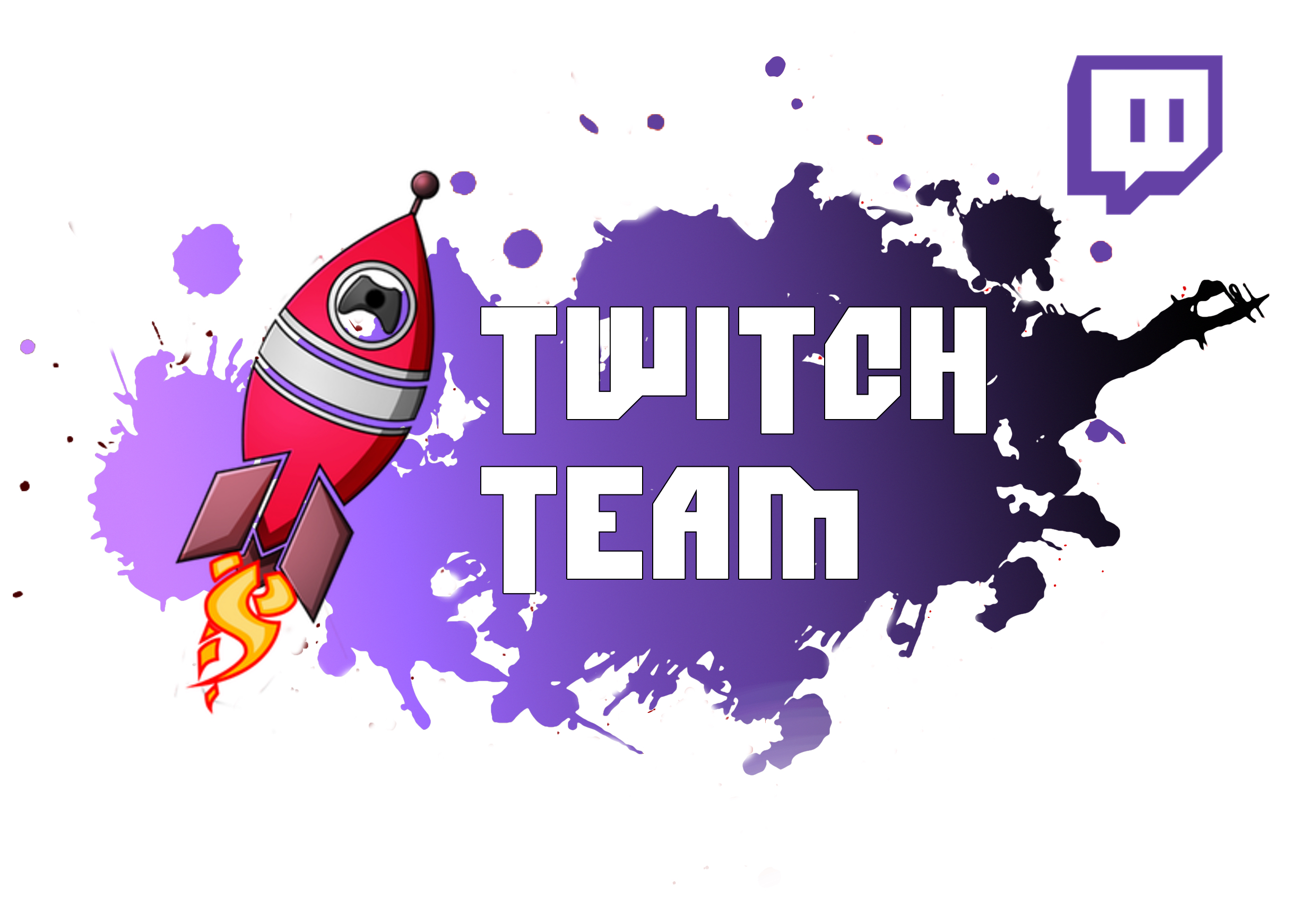 TWITCH TEAM LOGO